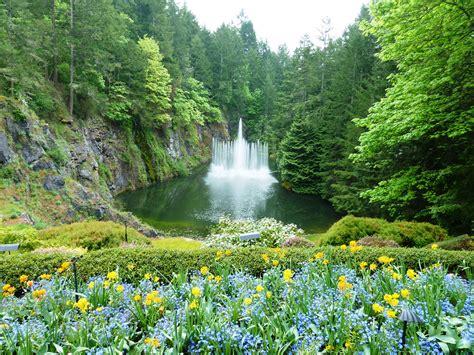 imagenes de jardines lujosos butchart gardens el sitio