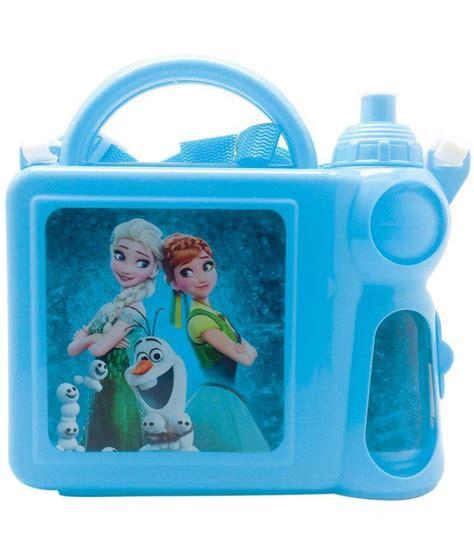 Lunch Box Set Frozen tuelip frozen lunch box and water bottle set blue buy