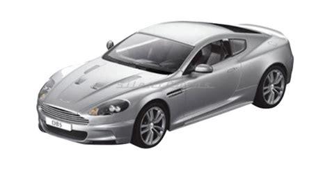 Rc Aston Martin by Rastar 52200 Aston Martin Dbs Coupe Open Door Silver 1