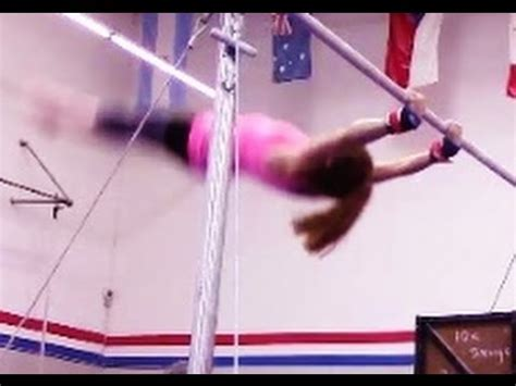 gymnastic swing gymnastics tip for a tap swing on bars with coach meggin