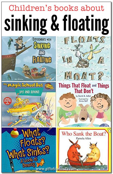 What Is Floating And Sinking by Children S Books About Sinking And Floating Gift Of