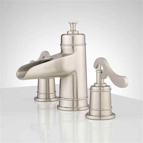 Delta Brushed Nickel Kitchen Faucet Delta Bathroom Faucets Brushed Nickel Farmlandcanada Info