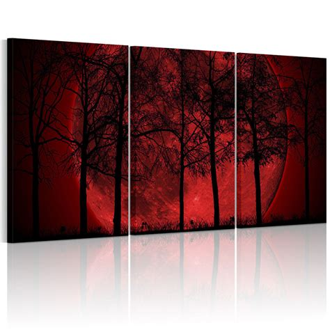 canvas prints home decor hd canvas prints home decor wall art painting picture red