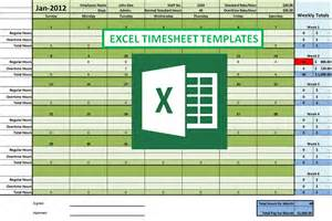 Excel Template For Timesheet by Excel Timesheet Formulas To Create An Easy To Use