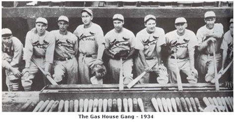 gas house gang cardinals