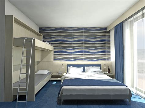 hotel room design interior design project archiviz