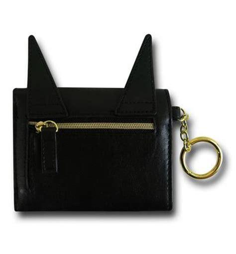 Mini Wallet Character Batman batman ears mini trifold wallet w keyring