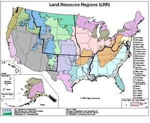 land resource regions lrr
