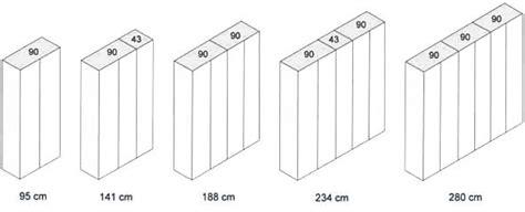 dimensioni standard armadio armadi su misura e misure standard