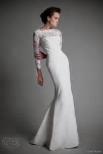 Long Sleeve Wedding Dress Tony Ward Wedding Dresses 2013 Wedding Inspirasi Page 2