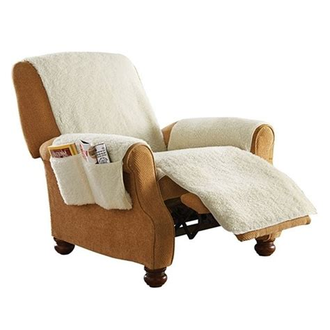 snuggle up fleece recliner seat cover