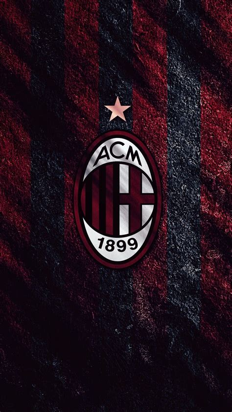 logo ac milan wallpapers   background pictures