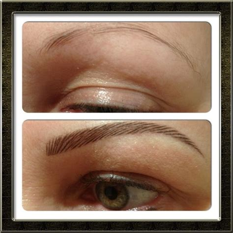 tattoo eyebrows touch up 26 best cosmetic tattoo images on pinterest eye brows