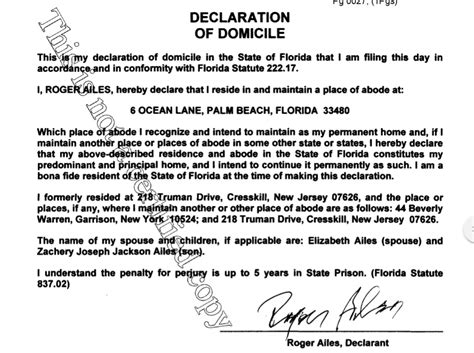 Palm County Court Documents