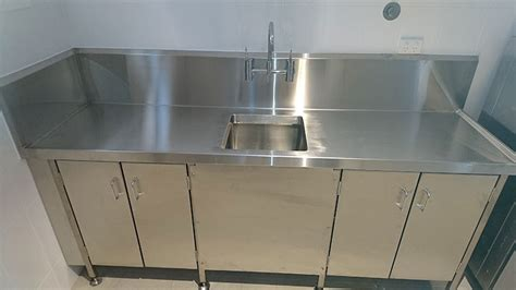 stainless steel kitchen bench stainless steel kitchen bench mackay brian martin s