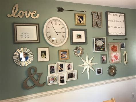 kitchen gallery wall 25 best ideas about clothespin picture frames on