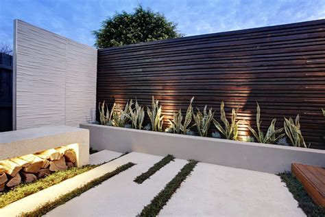 exterior wall design compact garden design project under the australian sun