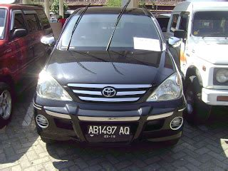 Lu Belakang Avanza Tahun 2012 toyota avanza g tahun 2006 bursa mobil warog