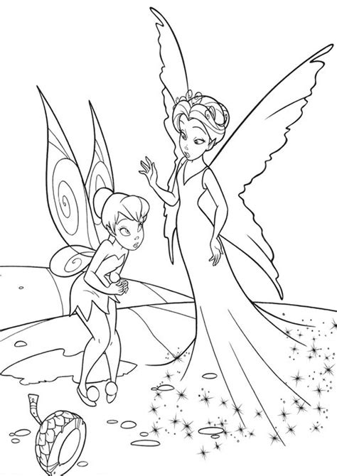 Kolorowanka Dzwoneczek i Klarion Disney nr 17