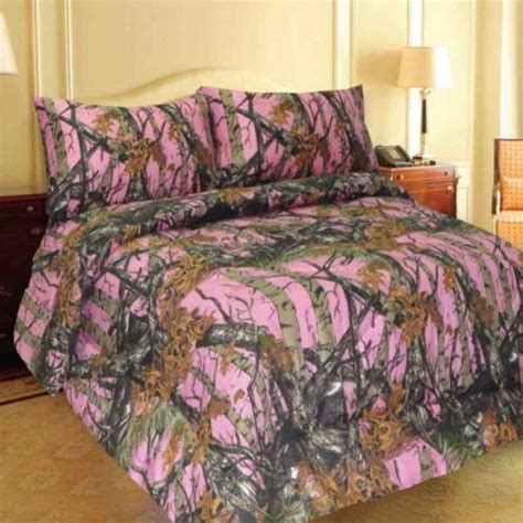 king size pink camo comforter set pinterest