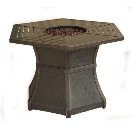 walmart pit table cambridge hexagonal high top gas pit table walmart com