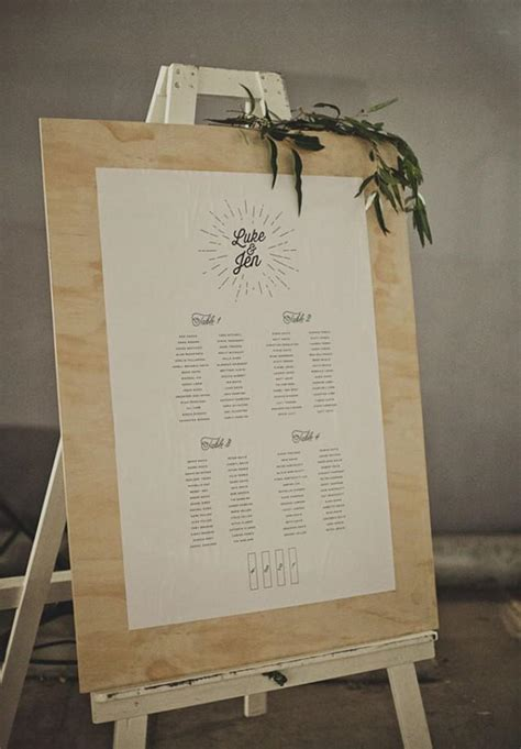 banquet table seating chart ideas 20 stylish seating charts to greet your reception guests