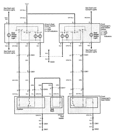wiring diagram for saab heated seats wiring diagram with