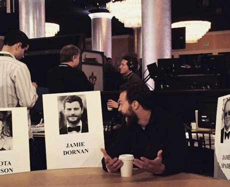 Come With Me Golden Globes Viewing And More by Omg Is That Me Dornan Thinks He S Found His