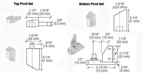 amarlite style offset door pivots th1112 doorware
