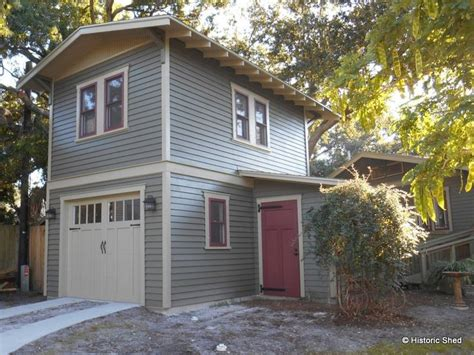 two story garage plans with apartments located in the hype park historic district of ta this