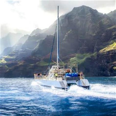 catamaran boat tours kauai kauai boat tours kauai