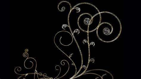 Home Design 3d Compact Download by Hd Background Gold Designs On Black Background Wallpaper
