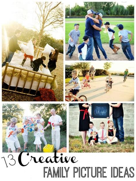 8 Ideas For A Family by 13 Creative Family Picture Ideas Just Be Creative And