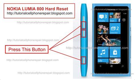 Resetting Your Nokia Lumia 800 | hard reset nokia lumia 800
