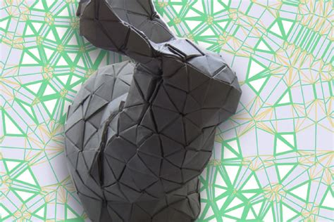 Computational Origami - mit algorithm tells you how to fold any shape imaginable