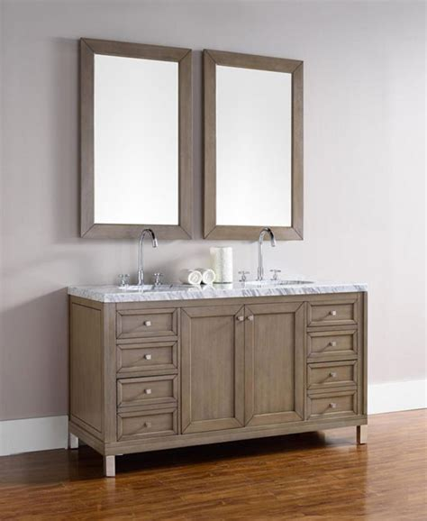 bathroom vanity chicago james martin chicago double 60 inch transitional