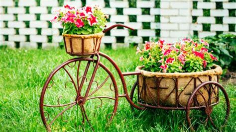 Garden Decoration Cycle by 50 Bike Flower Garden Decoration Creative Ideas 2016