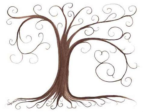 friendship tree template thumbprint tree guestbook and trees on