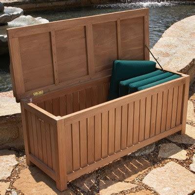 diy wooden storage box teak teak deck box large from sportys preferred living