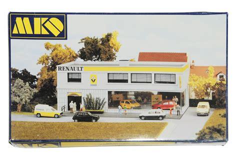 Renault Garage Slough modelljernbane 187 jernbanestasjon