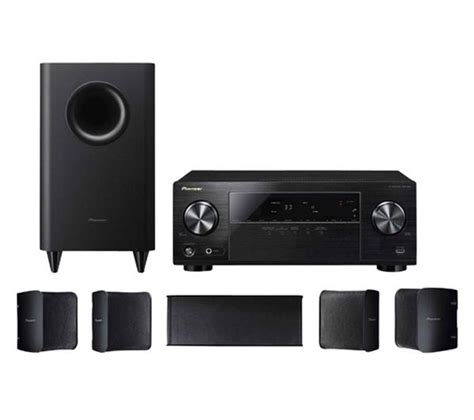 Home Theater Pioneer Indonesia pioneer htp 072 5 1 channel home theater package with