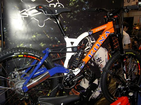 kona stab supreme interbike 2006 the evolution of mountain bikes for next