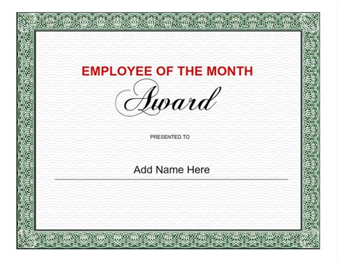 employee of the month template the gallery for gt employee of the month nomination template