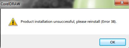 corel draw x4 error reading file corel draw x4 error 38 community site general questions