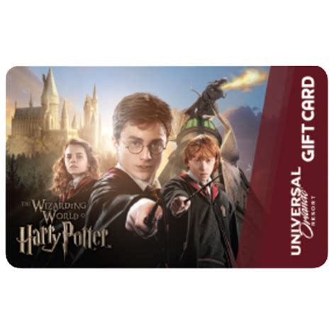 Harry Potter Gift Card - your wdw store universal collectible gift card the wizarding world of harry potter