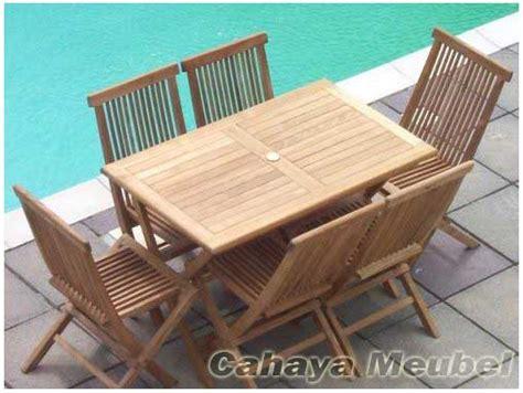 Kursi Lipat Minimalis meja taman kursi lipat kayu jati set kursi lipat cahaya
