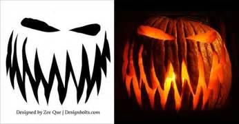 10 free printable scary pumpkin best 25 pumpkin carvings ideas on