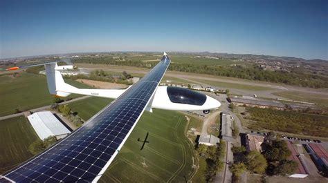 test velox telecom solar powered two seat sunseeker airplane has progress report