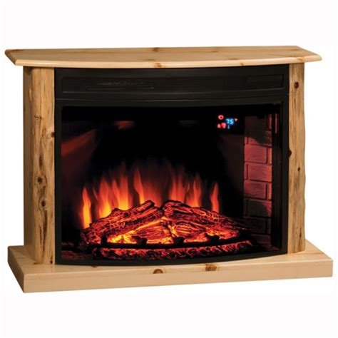 Pine Fireplaces by Cozy Glow Knotty Pine Fireplace Home Wood Furniture