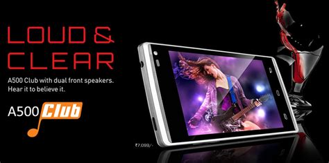 xolo a500 club xolo a500 club with 4 inch ogs display dual front facing